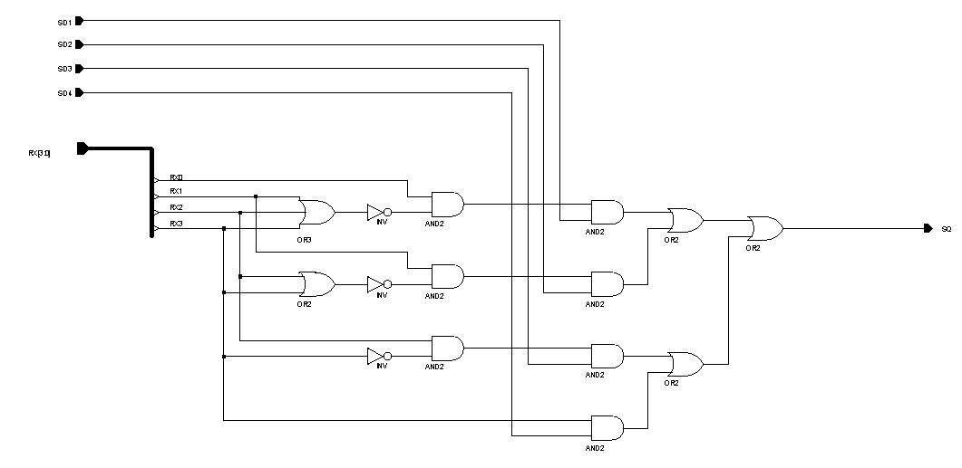 Внутренняя схема узла